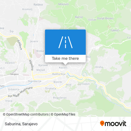 Saburina map