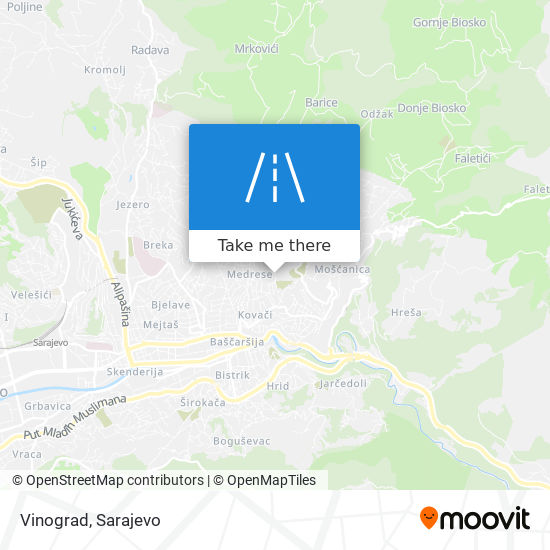 Vinograd map