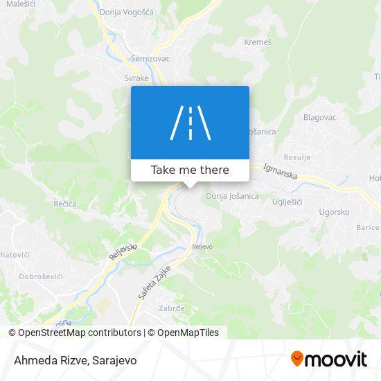 Ahmeda Rizve map