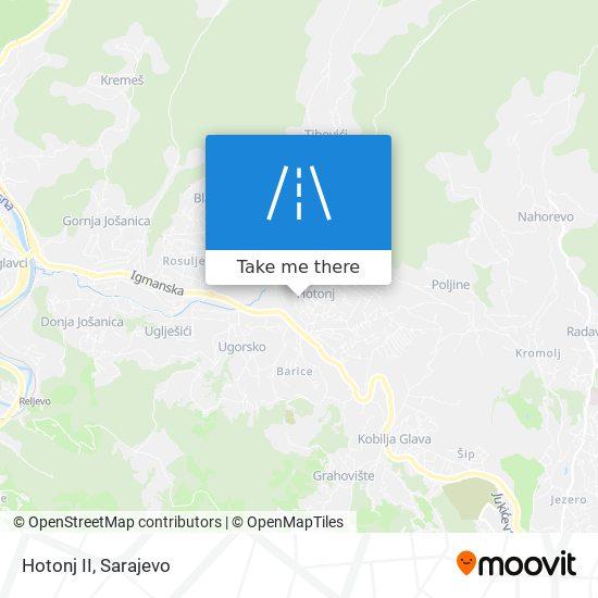 Hotonj II map