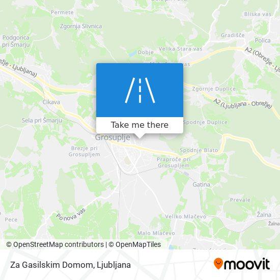 Za Gasilskim Domom map
