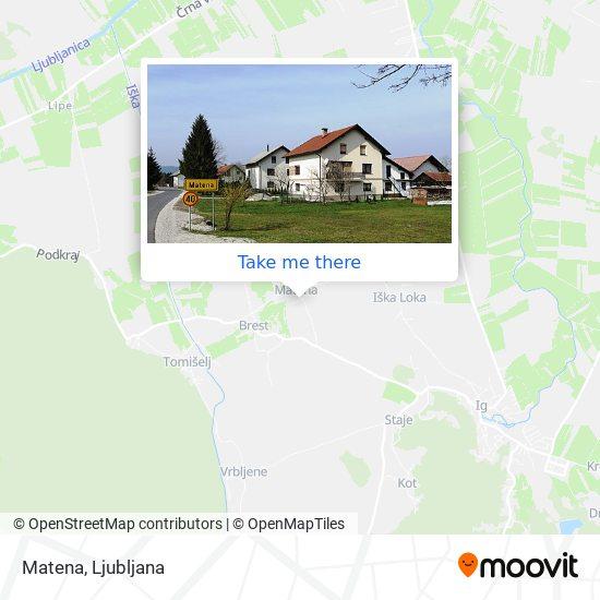 Matena map