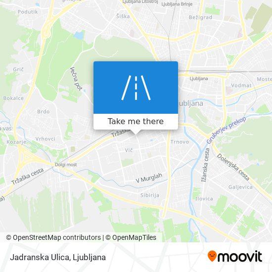 Jadranska Ulica map