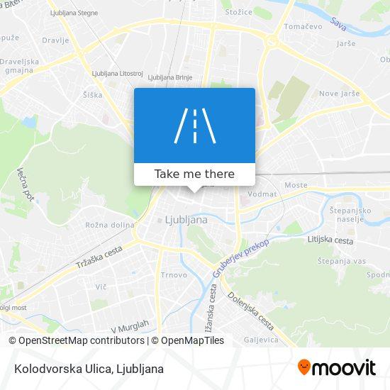 Kolodvorska Ulica map