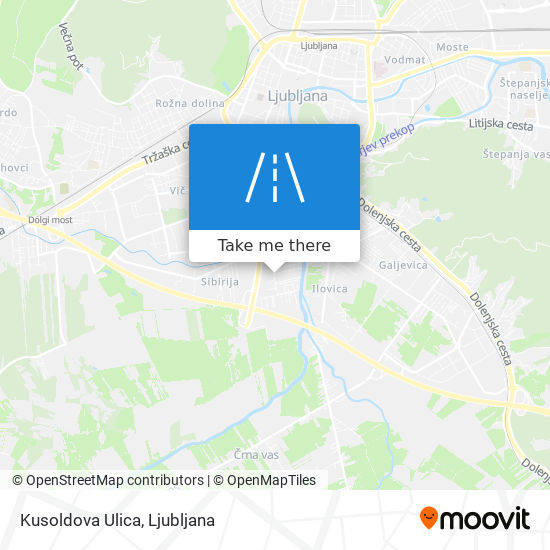 Kusoldova Ulica map