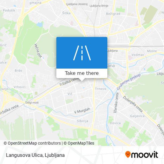 Langusova Ulica map