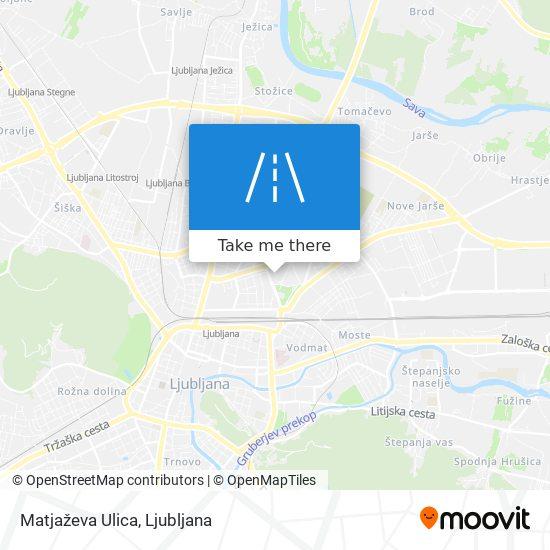 Matjaževa Ulica map