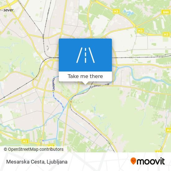 Mesarska Cesta map