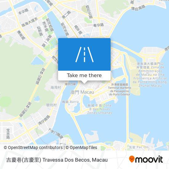 吉慶巷(吉慶里) Travessa Dos Becos map