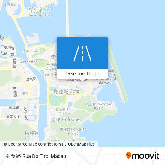 射擊路 Rua Do Tiro map