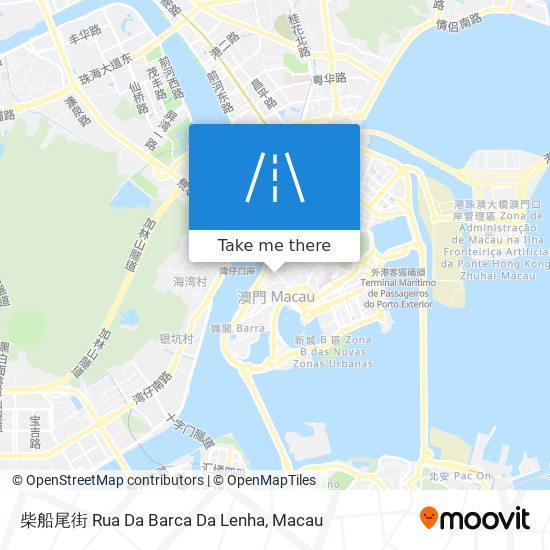 柴船尾街 Rua Da Barca Da Lenha map