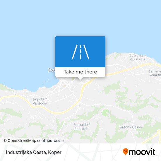 Industrijska Cesta map