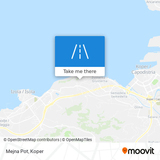 Mejna Pot map