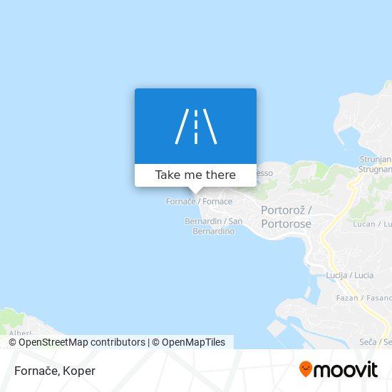 Fornače map