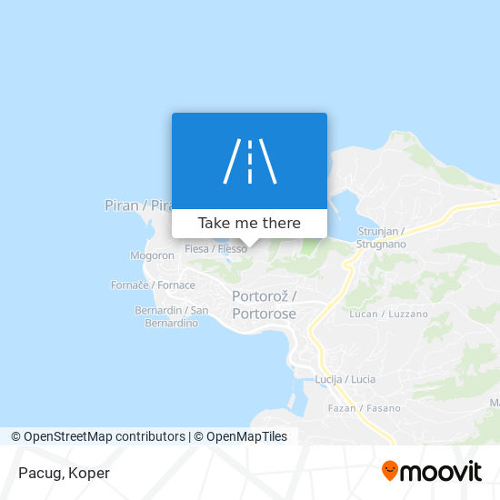 Pacug map