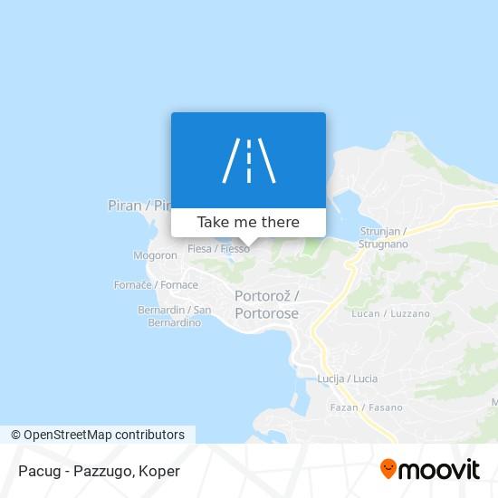 Pacug - Pazzugo map