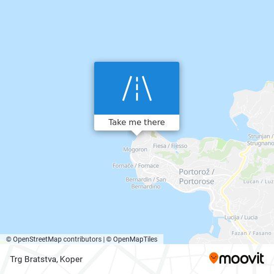 Trg Bratstva map