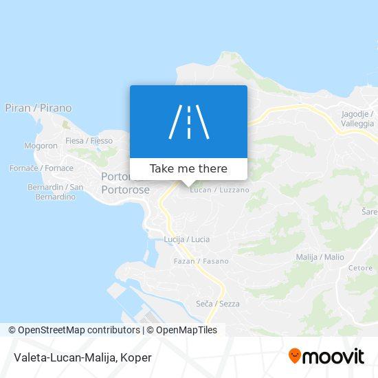 Valeta-Lucan-Malija map