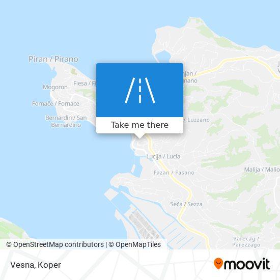 Vesna map