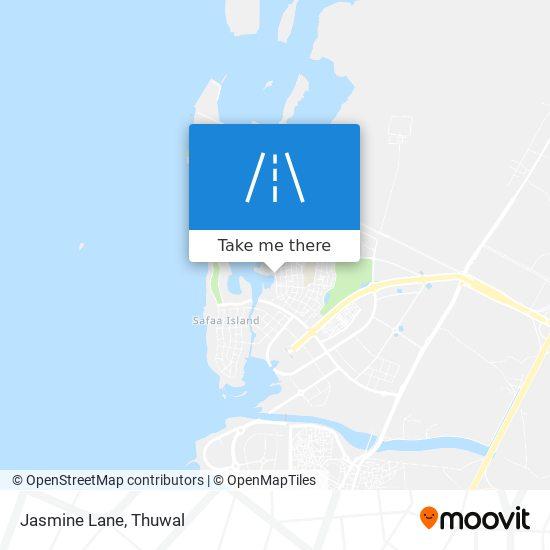 Jasmine Lane map
