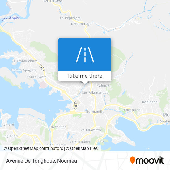 Avenue De Tonghoué map