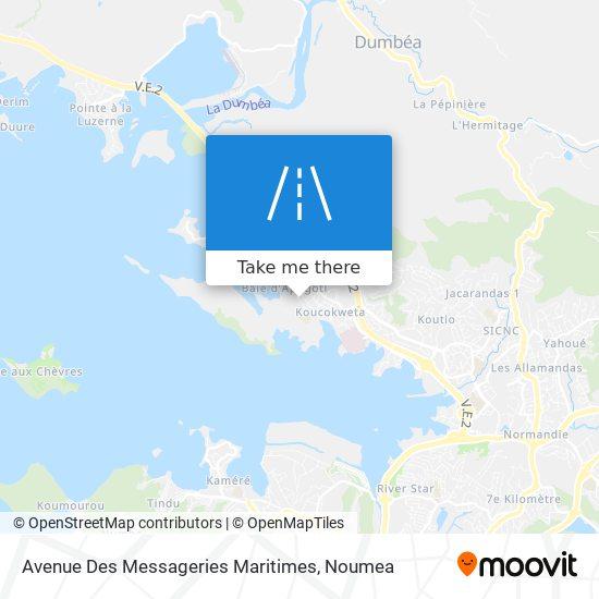 Avenue Des Messageries Maritimes map