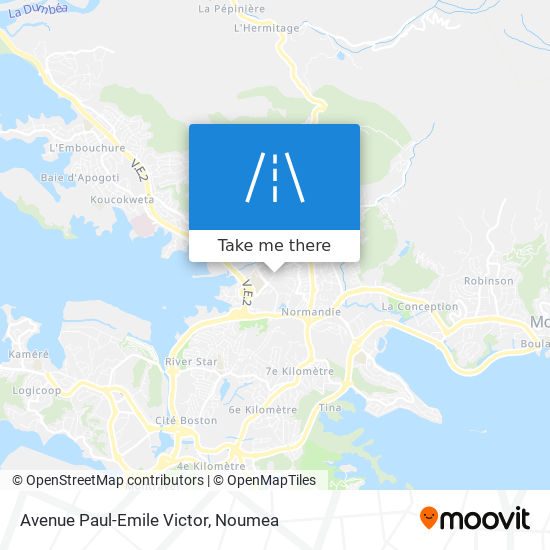 Avenue Paul-Emile Victor map