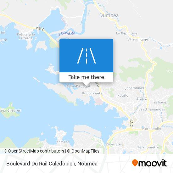 Boulevard Du Rail Calédonien map