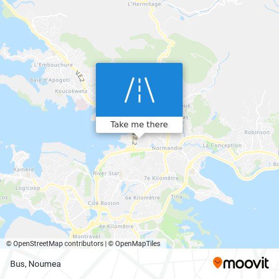 Bus map