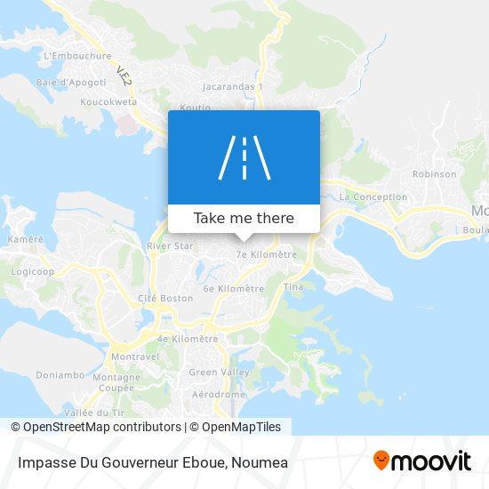 Impasse Du Gouverneur Eboue map