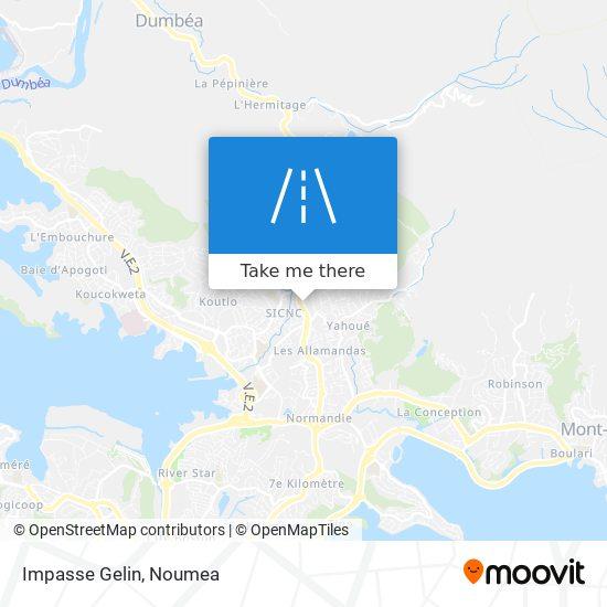 Impasse Gelin map
