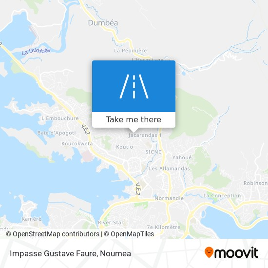 Impasse Gustave Faure map