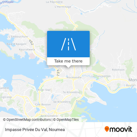 Impasse Privée Du Val map