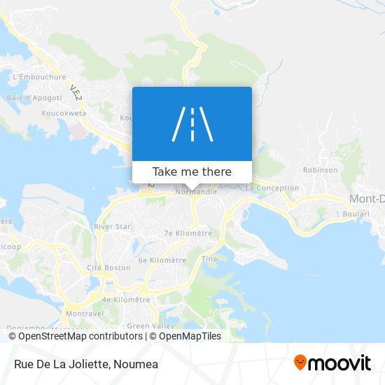 Rue De La Joliette map