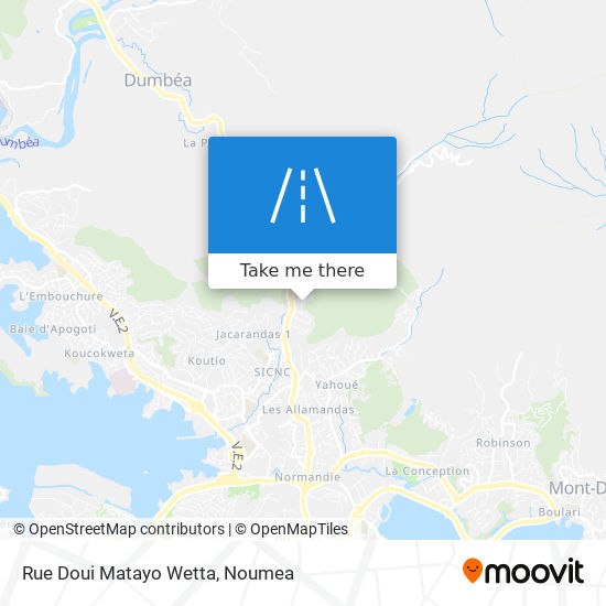 Rue Doui Matayo Wetta map