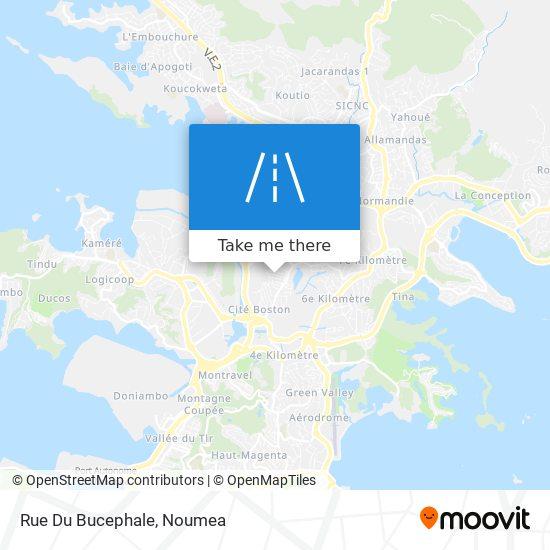 Rue Du Bucephale map