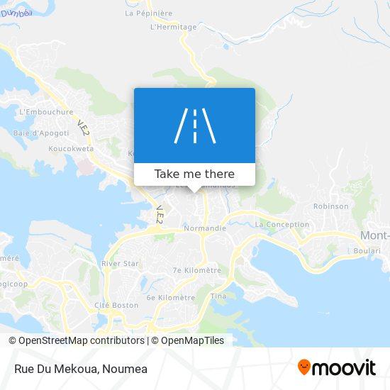 Rue Du Mekoua map