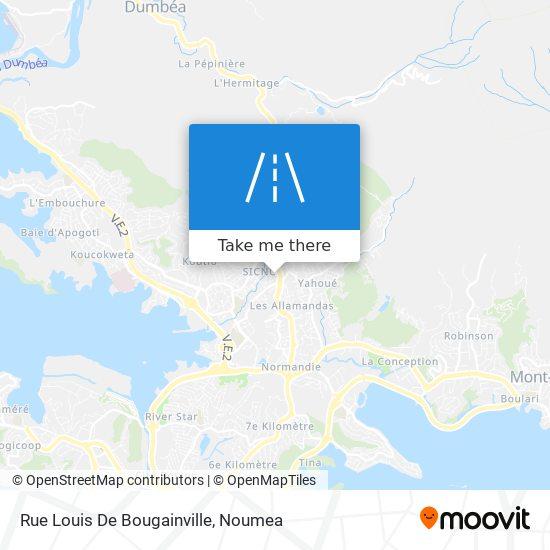Rue Louis De Bougainville map