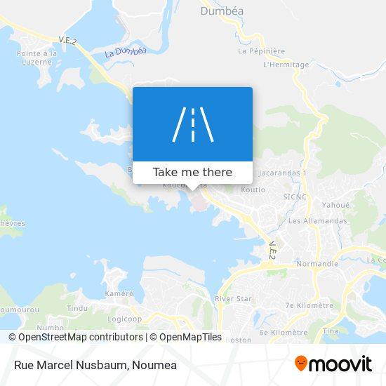 Rue Marcel Nusbaum map