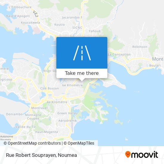 Rue Robert Souprayen map