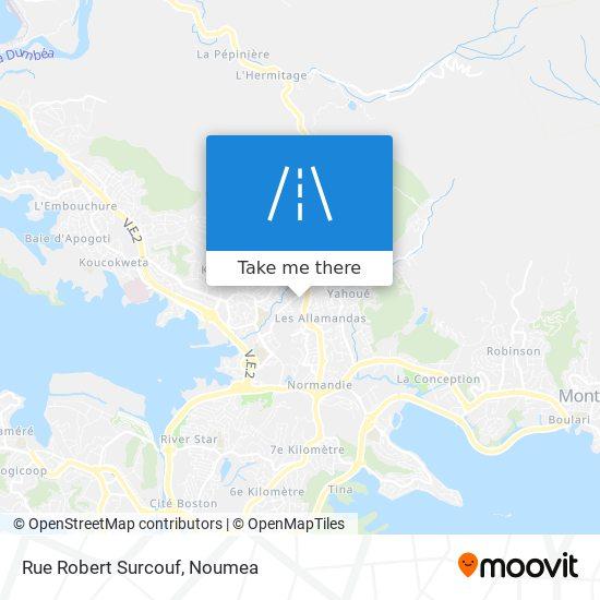 Rue Robert Surcouf map