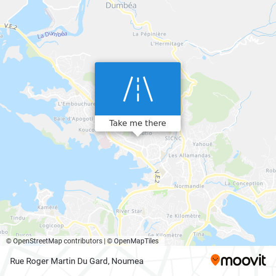 Rue Roger Martin Du Gard map