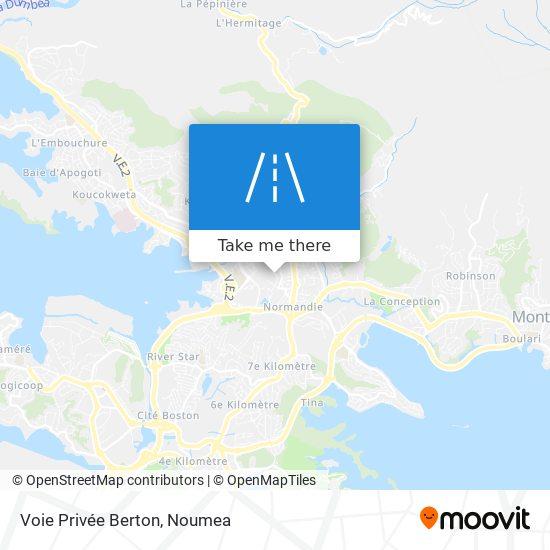 Voie Privée Berton map