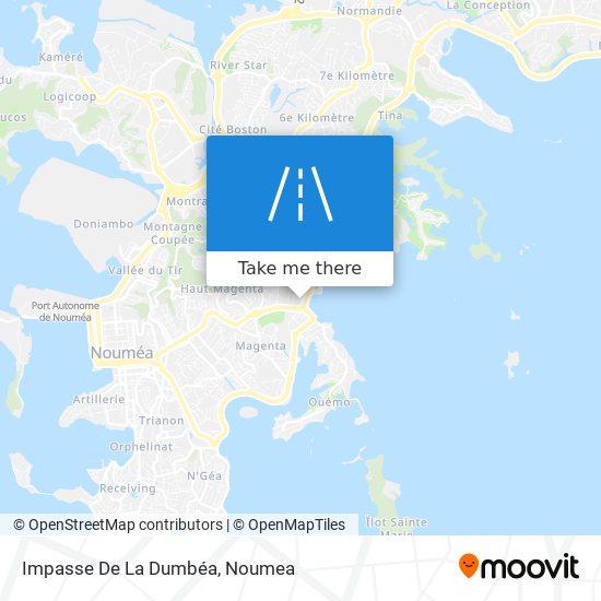 Impasse De La Dumbéa map