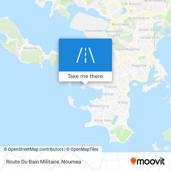 Route Du Bain Militaire map