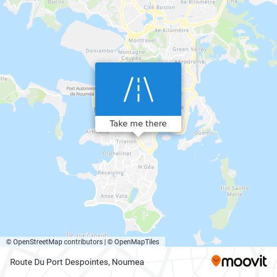 Route Du Port Despointes map