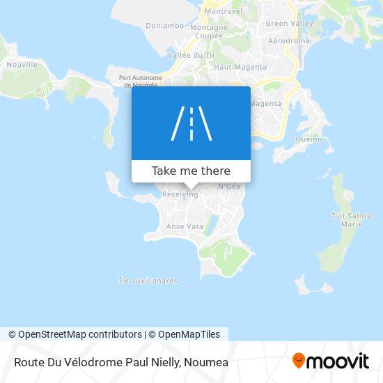 Route Du Vélodrome Paul Nielly map