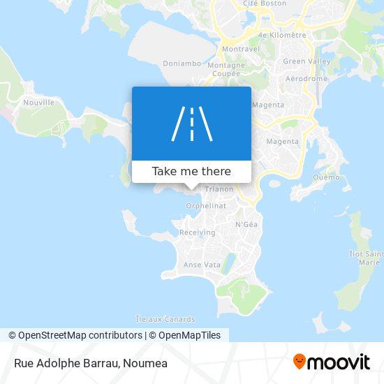 Rue Adolphe Barrau map