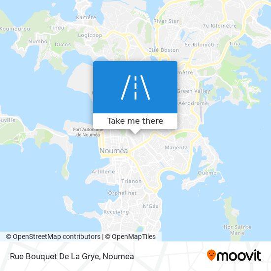 Rue Bouquet De La Grye map