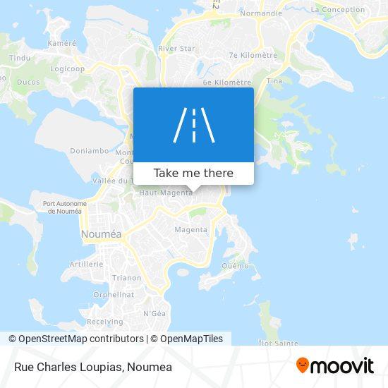 Rue Charles Loupias map